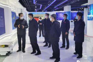 张佰成代市长到浩源科技园检查指导企业复工复产